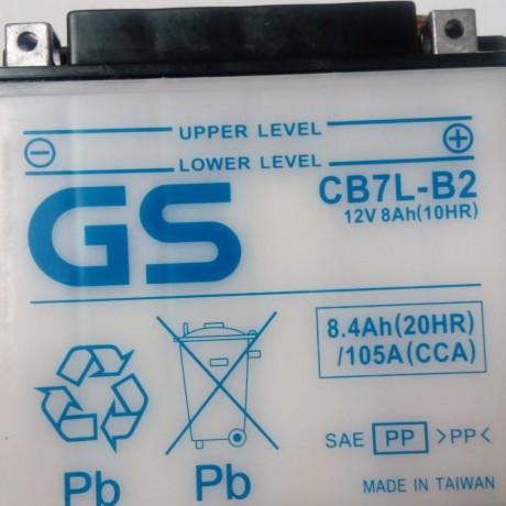 BATERIA GS - CB7L-B2