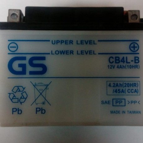 BATERIA GS - CB4LB